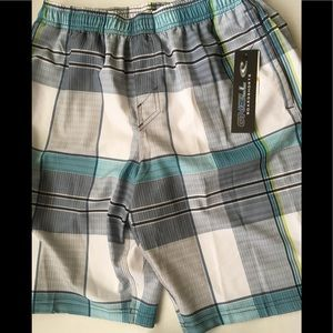 O'Neil swim shorts trunks elastic waste new Sz S